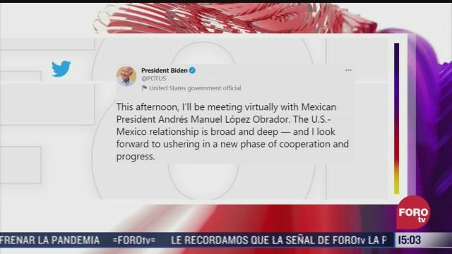 relacion entre estados unidos y mexico es amplia y profunda biden