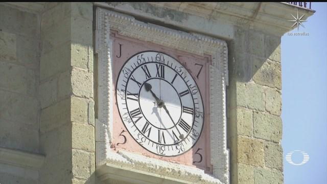 restauran reloj de la catedral de oaxaca