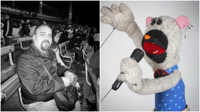 31 minutos dio a conocer la muerte de Armando Jofré su fabricante de títeres