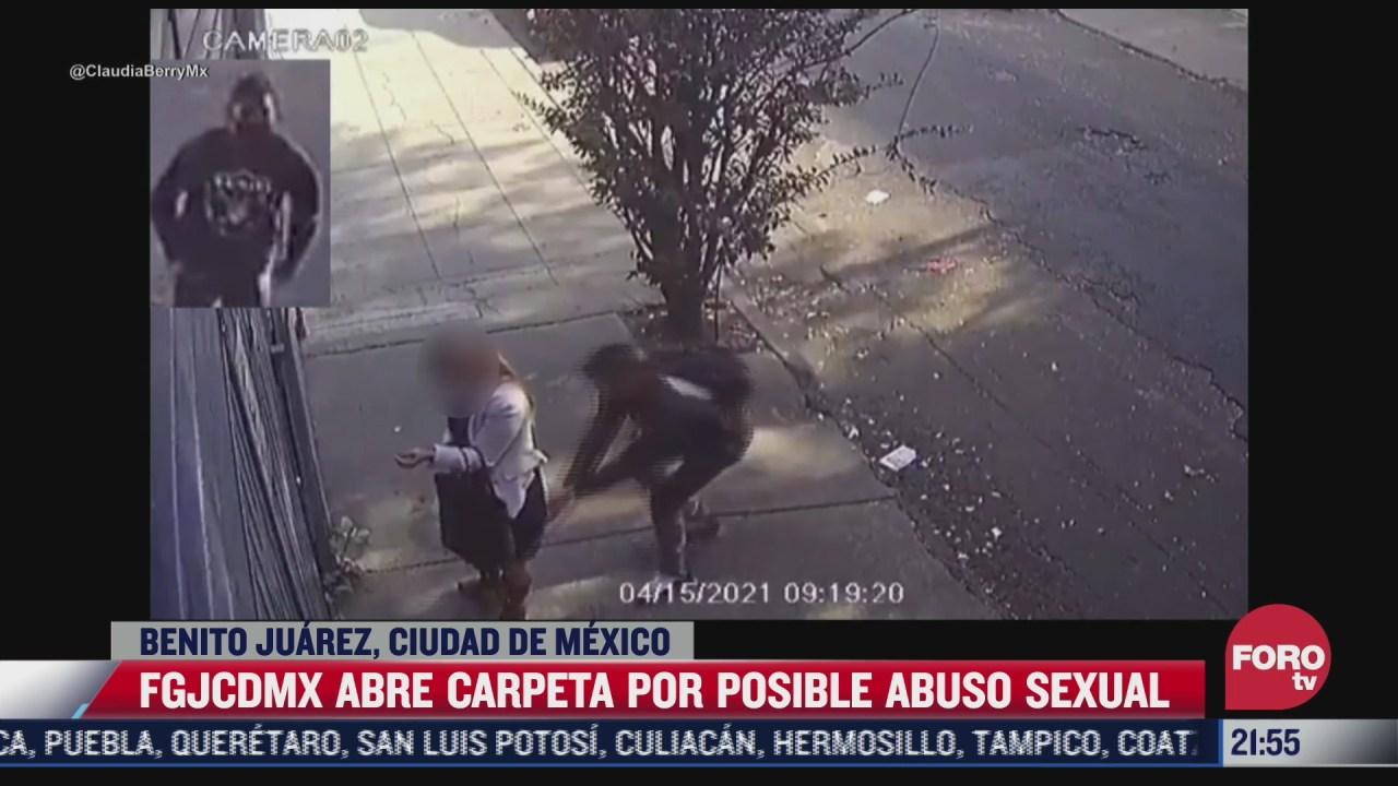 abren carpeta de investigacion contra agresor sexual de mujer en la cdmx