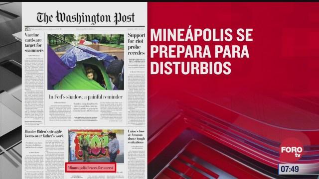analisis de las portadas nacionales e internacionales del 19 de abril del