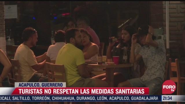 bares lucen llenos en acapulco pese a pandemia de covid