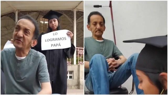 bolero, graduación, familia, video viral, captura de pantalla