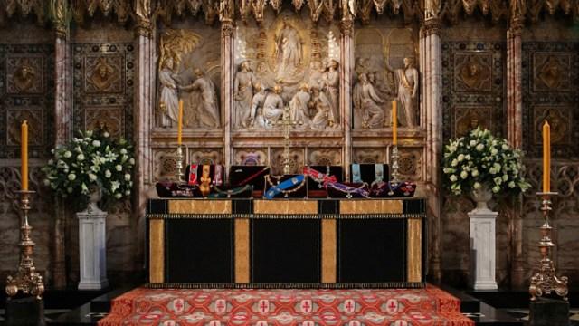 La construcción de la capilla de San Jorge inició en el reinado de Eduardo IV y terminó en 1528