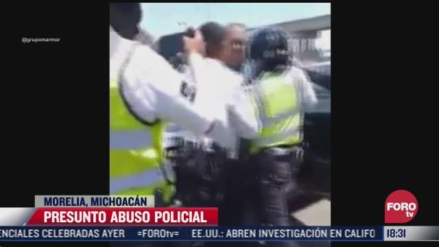 captan nuevo abuso policial contra adulto mayor en michoacan