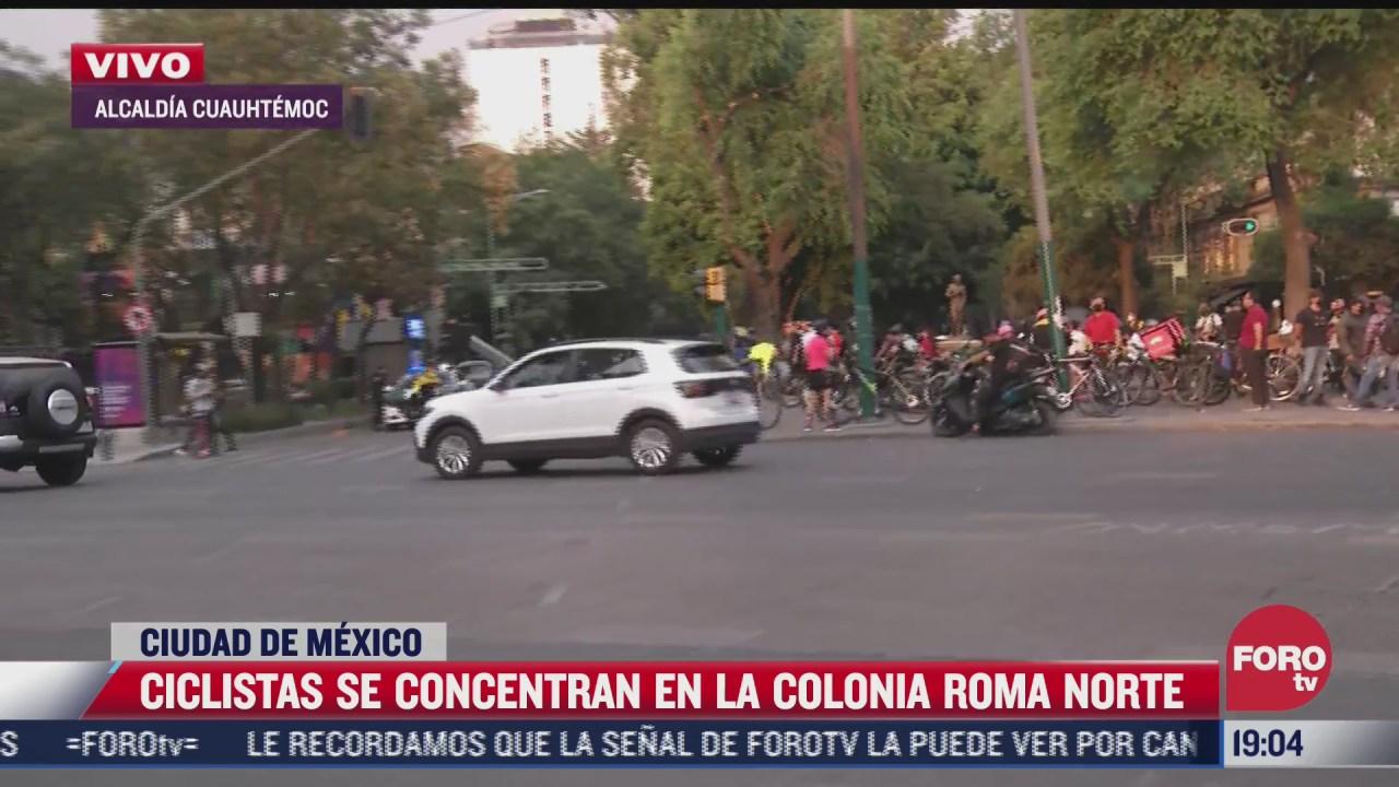 ciclistas preparan rodada al sur de la cdmx