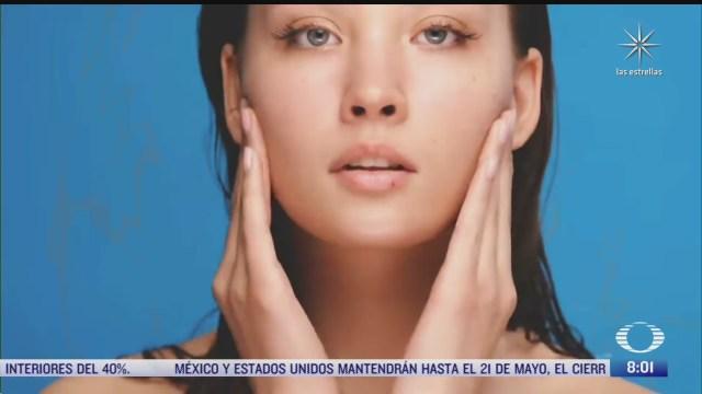 como evitar el acne que genera el uso del cubrebocas