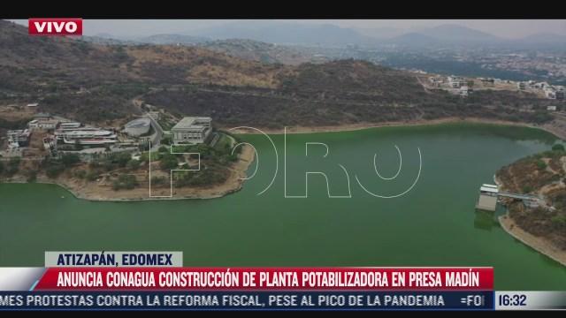 conagua anuncia construccion de planta potabilizadora en presa madin