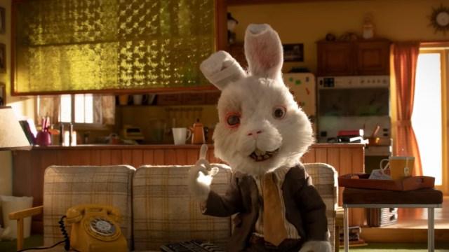 conejo Ralph, maltrato animal, corto animado, cosméticos, captura de pantalla