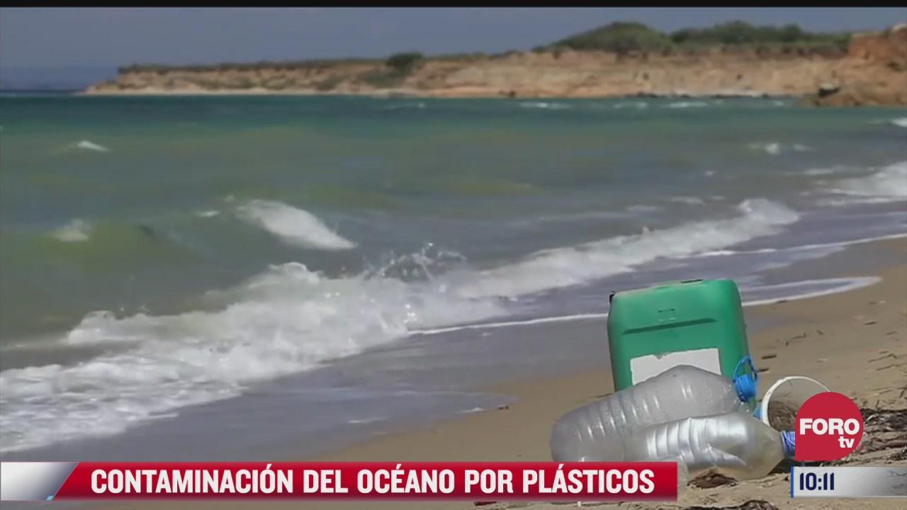 contaminacion del oceano por plasticos