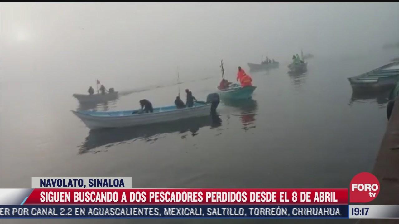 continua busqueda de pescadores en navolato sinaloa