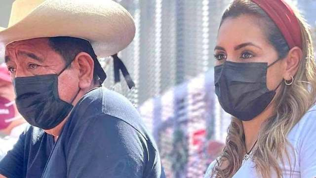 Destapan a Evelyn, hija de Salgado Macedonio para contender en Guerrero, él niega influyentismo