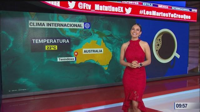el climaenexpreso internacional del 13 de abril del