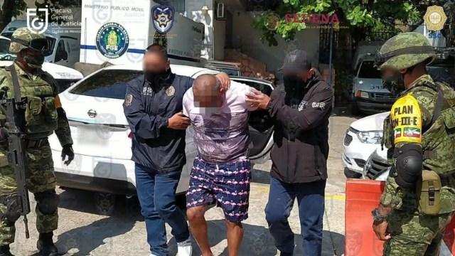 'El Fabián', detenido en Acapulco, es trasladado al Reclusorio Oriente.