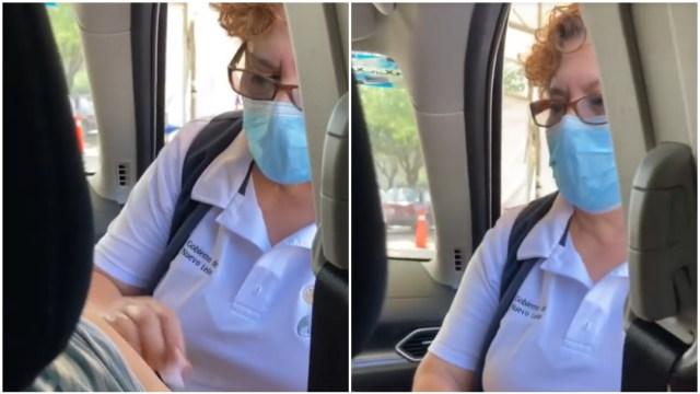 enfermera, bendición, Monterrey, captura de pantalla