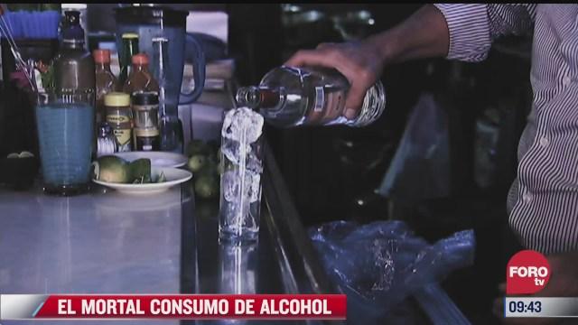 extra extra el mortal consumo de alcohol