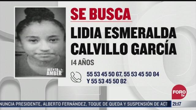 familiares de lidia esmeralda calvillo buscan a la menor de 14 anos