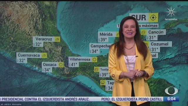 frente frio 50 provocara lluvias en coahuila nuevo leon y tamaulipas