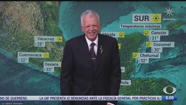 frente frio 51 provocara lluvias fuertes en chiapas y quintana roo