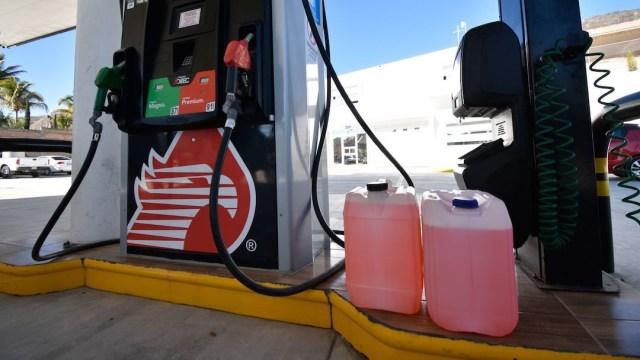 Gasolinera en México (Cuartoscuro)