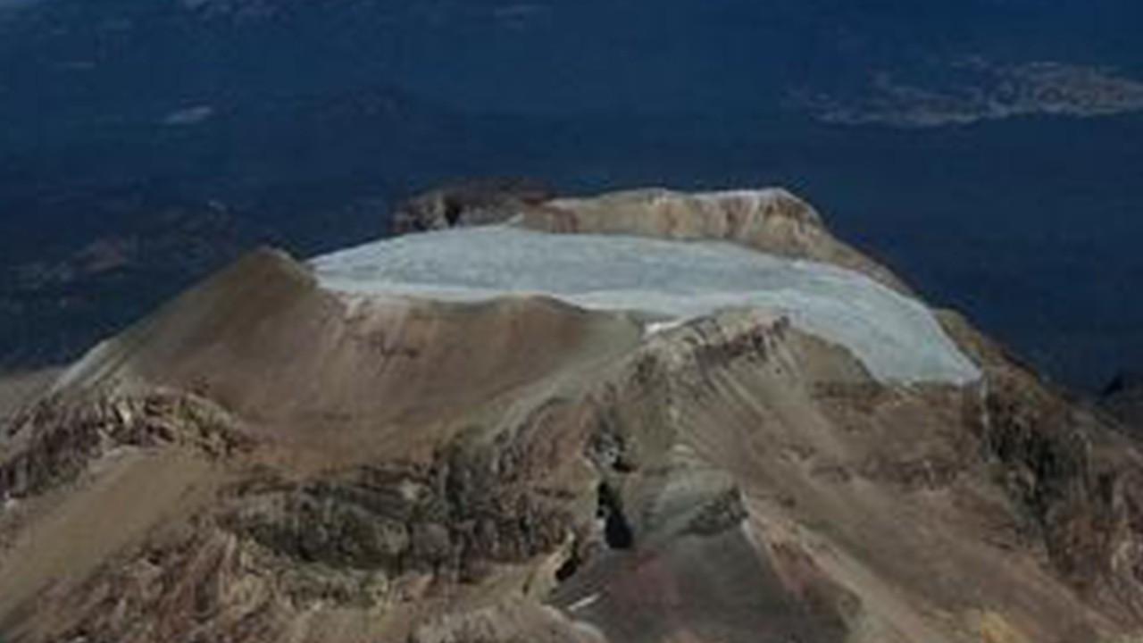glaciar en méxico