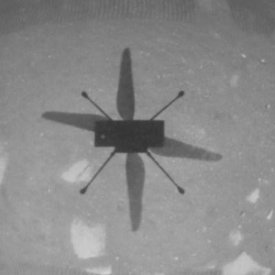 Helicóptero Ingenuity de la NASA vuela por primera vez en Marte