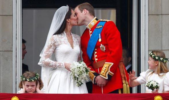 La boda de Guillermo y Catalina en 2011.