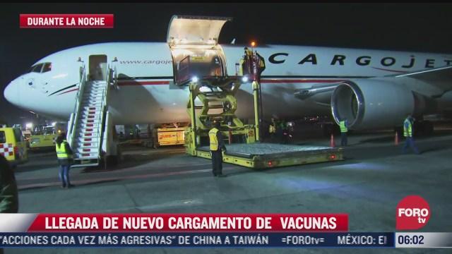llega a mexico nuevo cargamento de vacunas covid 19 de pfizer