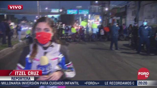 manifestantes bloquean constituyentes y reforma cdmx