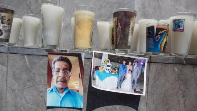 Memorial improvisado en Basílica de Guadalupe alivia duelo a familiares de fallecidos por COVID-19