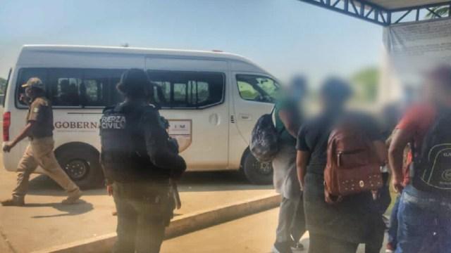 Rescatan-a-71-migrantes-en-Veracruz-hay-3-detenidos