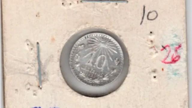 Moneda de 10 centavos antigua en venta en internet