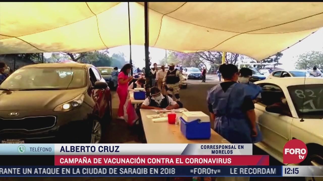 morelos continua la vacunacion contra covid