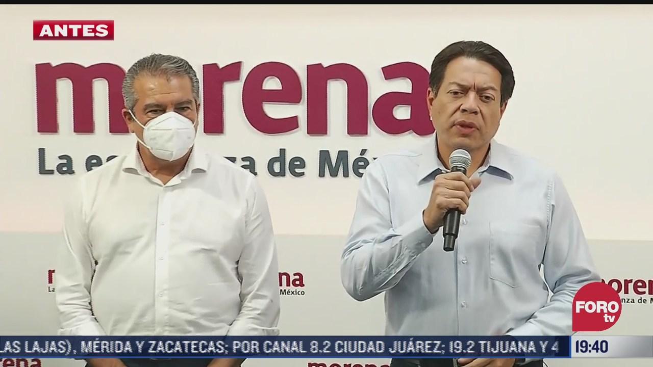 Morena designa a Alfredo Ramírez como candidato al gobierno de Michoacán