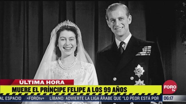 muere el principe felipe esposo de la reina isabel ii