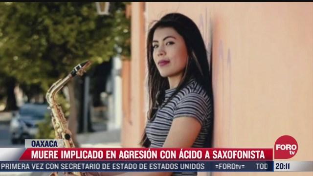 muere implicado en agresion a saxofonista en oaxaca
