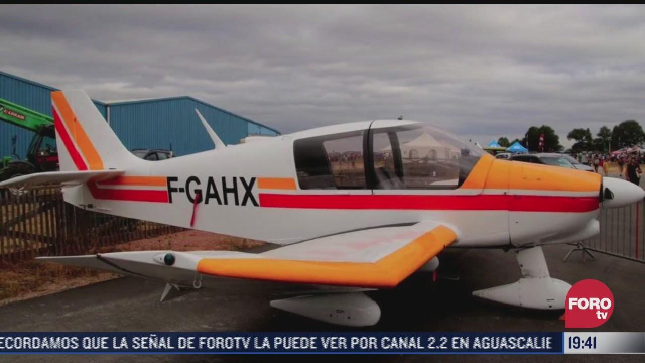 mueren 4 personas tras colapso de avioneta en francia