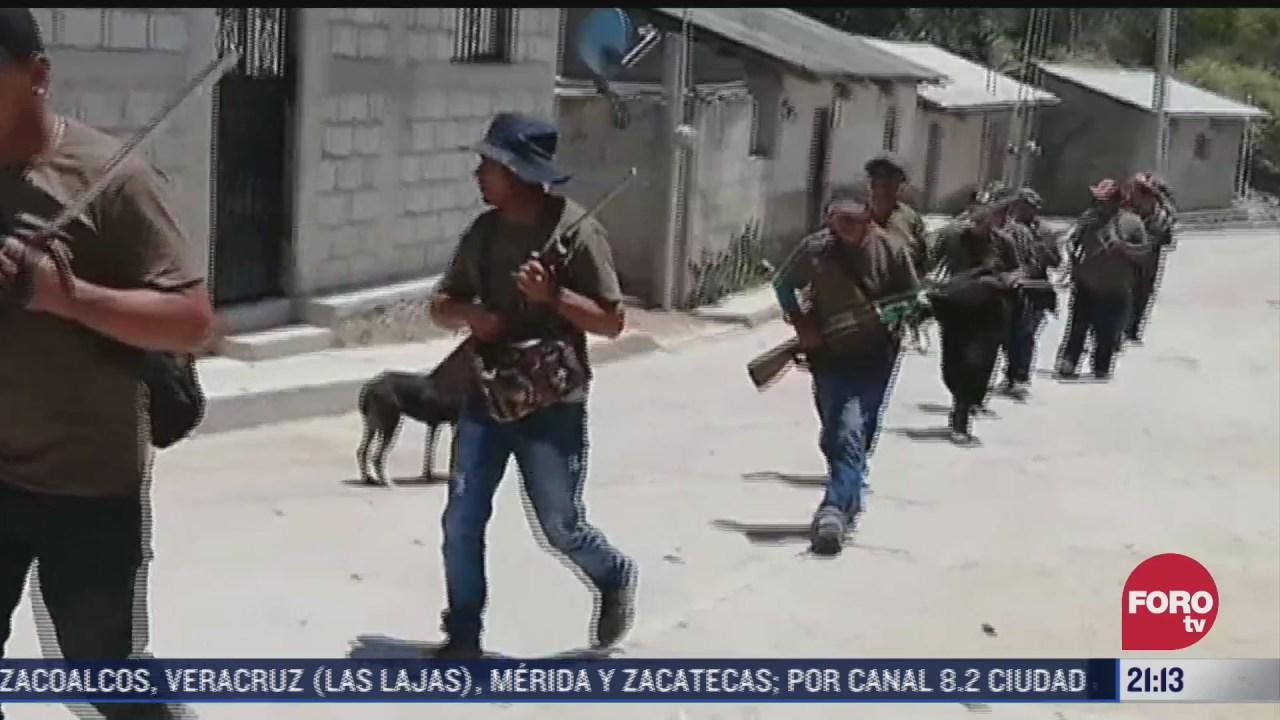 ninos se integran a policia comunitaria en el municipio de san joaquin de herrera