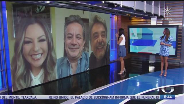 paola rojas entrevista a mariana ochoa pierre angelo y fredy ortega sobre noche de buenas