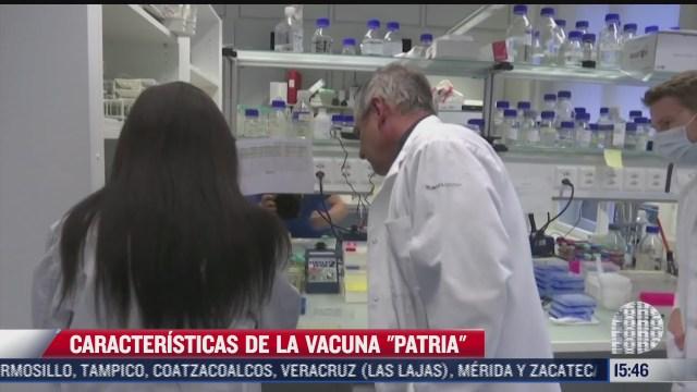 patria la vacuna mexicana contra covid