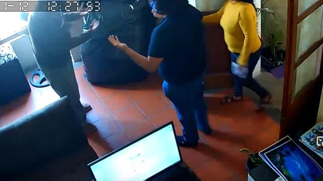 regidor, violencia, Tasquillo, Hidalgo, captura de pantalla