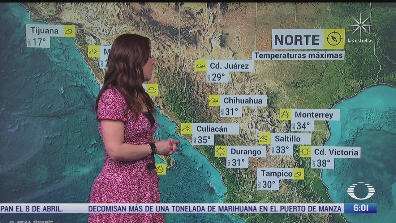 preven lluvias con caida de granizo en coahuila nuevo leon y tamaulipas
