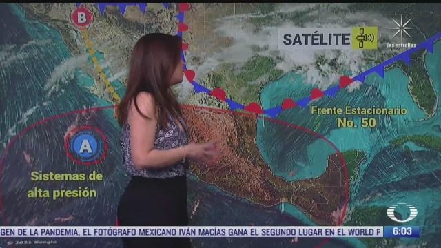preven lluvias fuertes en el norte y noreste de mexico