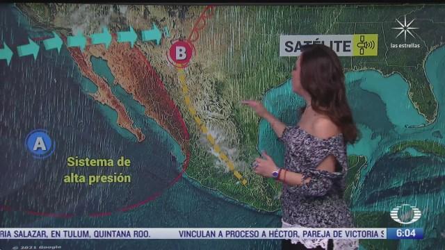 preven lluvias fuertes en el oriente y sureste de mexico