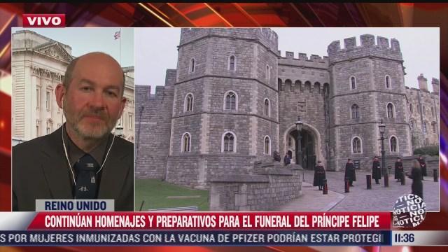 principe enrique llega a reino unido para el funeral de su abuelo