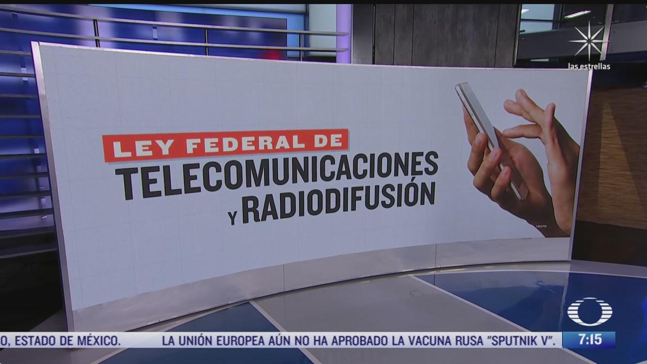 que busca la reforma a la ley de telecomunicaciones sobre datos biometricos de los celulares