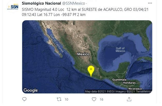 (Foto: @SSNMexico)