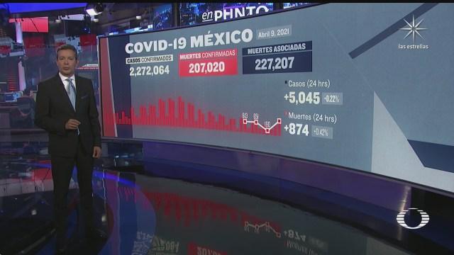 suman 207 mil 20 muertos por coronavirus en mexico