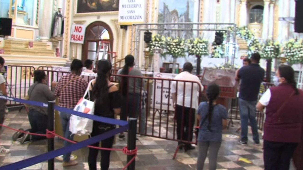 Suspenden por segunda ocasión los festejos al Santo Niño Doctor en Tepeaca por COVID-19