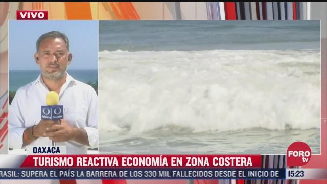 turismo reactiva economia en zona costera de oaxaca